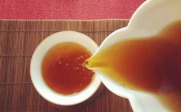 祁门红茶茶汤